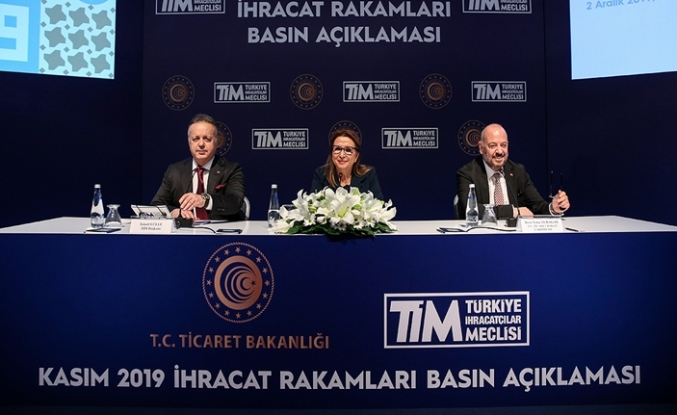 Kasım Ayı İhracat Rakamları, İstanbul'da Düzenlenen Basın Toplantısıyla Açıklandı