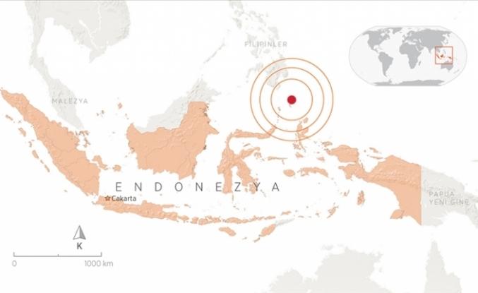 Endonezya 7.1 İle Sallandı