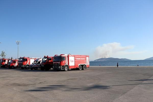 Heybeliada'da Çıkan Orman Yangını, Kontrol Altına Alındı