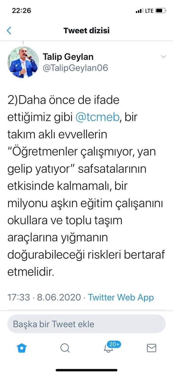 Türk Eğitim Sen'in Seminer Uzaktan Yapılsın Talebi Kabul Gördü