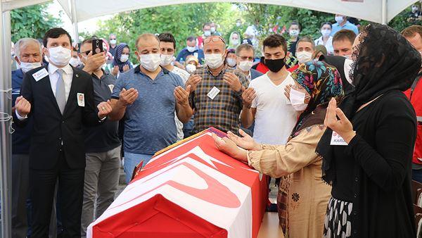 Türk Kızılay Personeli Şehit Kıdıman Son Yolculuğuna Uğurlandı