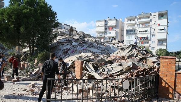 İzmir'in Seferihisar İlçesi Açıklarında 6,6 Büyüklüğünde Deprem Meydana Geldi